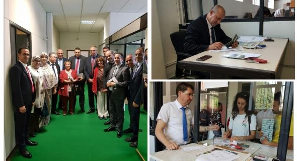 اللجنة البرلمانية الاستطلاعية المؤقتة الخاصة بالقنصليات تزور القنصلية العامة للمملكة المغربية في ميلانو