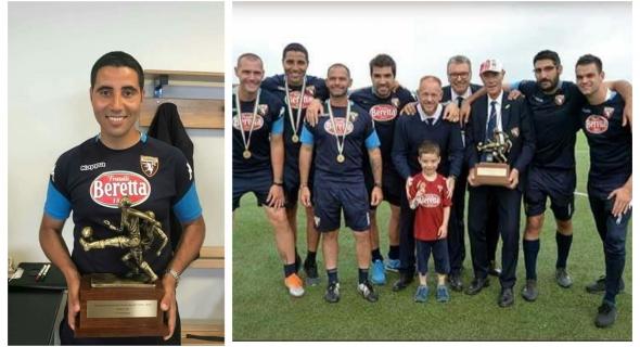 ابن أفورار المدرب نور الدين هليل يفوز مع فريقه بالدوري الإيطالي لكرة القدم Bretti