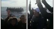 """بالفيديو… """"حراكة"""" من الفقيه بن صالح وسوق السبت وبني ملال """"ناشطين"""" على متن قاربين وسط البحر !"""