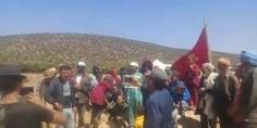 """""""العطش"""" يخرج دواوير بتيفرت نايت حمزة للاحتجاج ورئيس الجماعة يوضح"""