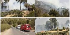 عاجل والسلامة… حريق مهول بالجبال قرب المدار السياحي عين اسردون و3 شاحنات للوقاية المدنية والمياه والغابات يسارعون لإخماذه -صور+فيديو-