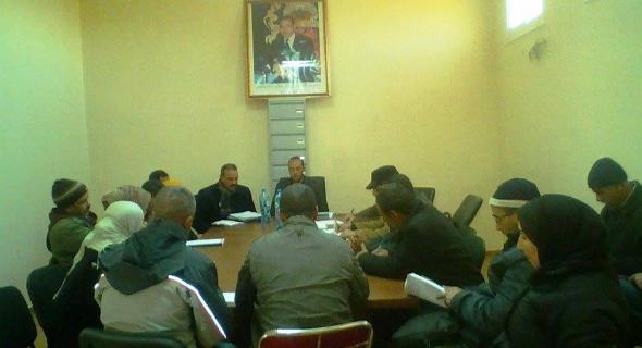 إعطاء الإنطلاقة الرسمية لإعداد برنامج عمل جماعة  تابية 2017/ 2022 بأزيلال