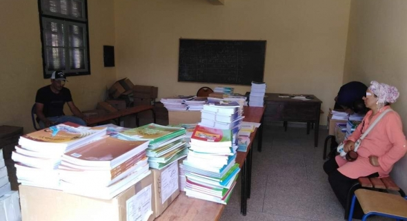 انطلاق عملية مليون محفظة بالمؤسسات التعليمية باقليم أزيلال