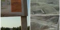 بالفيديو… نشطاء يحرجون رئيس الجماعة والمسؤولين بأعالي جبال ايت اعتاب بأزيلال بسبب تعثر أشغال ملعب القرب