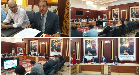 المدير الإقليمي لقطاع التربية الوطنية بالفقيه بن صالح يقدم عرضا مفصلا أمام المجلس الإقليمي حول الدخول التربوي 2019/2020 -فيديو-
