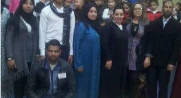 جمعية كساء للعمل الخيري بسوق السبت و بتنسيق مع جمعية الخير تدخل الفرحة على الأطفال