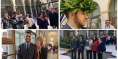 هنيئا وبالفيديو… ابن أفورار كاموني سمير يحصل على أعلى معدل ماستر اقتصاد بجامعة Verona بإيطالي