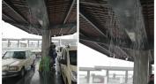 بالفيديو… مهنيون بالطاكسيات والحافلات يفضحون تسرب الأمطار بمحطة حديثة الإصلاح بطنجة ومسافرون يشتكون من العشوائية