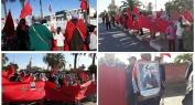 بالفيديو… قدماء المتقاعدين والمقاومين والمحاربين يخرجون في وقفة احتجاجية أمام عمالة الفقيه بن صالح ضد قرار طردهم من منازلهم
