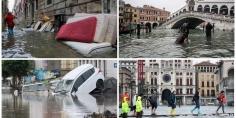 وزير الوزراء الإيطالي يعلن حالة الطوارئ عقب الفيضانات التي ضربت البندقية