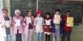 مدرسة اولاد عطو الفقيه بن صالح تنظم مسابقة  لاختيار احسن بحث حول عيدي المسيرة الخضراء و الاستقلال