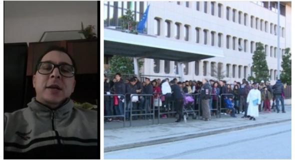 بالفيديو… أجيو تعرفو كيفاش ايطاليا غادي تصاوب الوراق للمهاجرين المقيمين بها بصفة غير قانونية -الحلقة1 على تاكسي نيوز-
