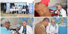 """جمعية """"لنتواصل"""" تطلق قافلة طبية واسعة بجهة بني ملال خنيفرة تهُم مختلف التخصصات الطبية والبداية من إقليم خريبكة"""