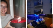 بالفيديو وقمة الانسانية والتضامن… شاهد كيف احتفلت الشرطة الإسبانية والسكان بعيد ميلاد طفلة تنحذر من بني ملال