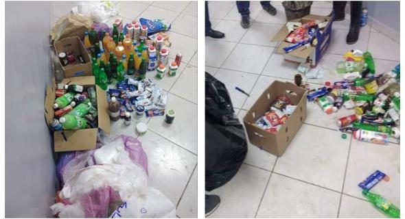 لجنة مختلطة يترأسها قائد فم العنصر تحجز مواد غذائية غير صالحة للإستهلاك -صور-