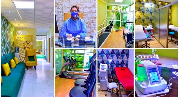 """بالفيديو والصور… مركز النور للترويض الطبي ببني ملال للأخصائية """"إكرام ياسين"""" في حلة جديدة بأحدث التقنيات والتجهيزات الطبية"""