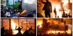 الغضب يجتاح أميركا بعد قتل الشرطة لأمريكي من أصول إفريقية بدم بارد… طوارئ وحظر تجول وآلاف أمام البيت الأبيض