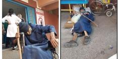 هدشي مؤثر بزاف… جندي متقاعد مسن يعيش حياة التشرد وينتظر علاجه بالمستشفى ببني ملال وجمعية حقوقية تدخل على الخط =صور=