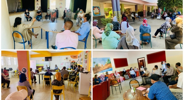 المديرة الإقليمية لوزارة التعليم بعين الشق في زيارة ميدانية لتفقد جاهزية المؤسسات التعليمية في ظل كوفيد -19