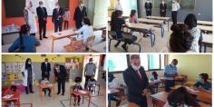 السليفاني وأطويف في زيارات تفقدية لعدد من المؤسسات التعليمية بإقليم الفقيه بن صالح =صور=