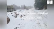 بالفيديو… جولة وسط الثلوج بجبال أزيلال وبالقرب من افورار
