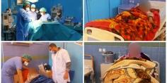 """الله يعطيهم الصحة… المستشفى الإقليمي بأزيلال يواصل مجهوداته و يُنَظِّم حملة جراحية لتورم الغدة الدرقية """"الݣواتر"""" =صور="""