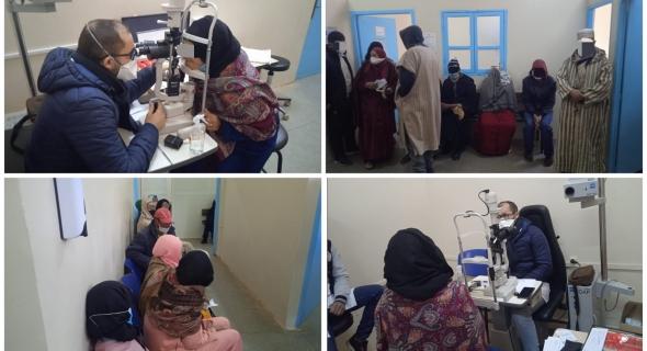 الحملات الطبية مستمرة… المستشفى الإقليمي بأزيلال ينظم حملة واسعة في طب العيون واستفادة عدد كبير من المواطنين