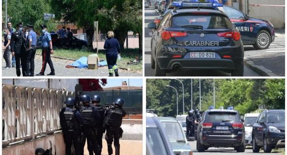 عاجل… شخص يطلق الرصاص من بندقيته ويستبب في وفاة 3 ضحايا (مسن وطفلَين) ببلدة أرديا بروما الايطالية (صور)