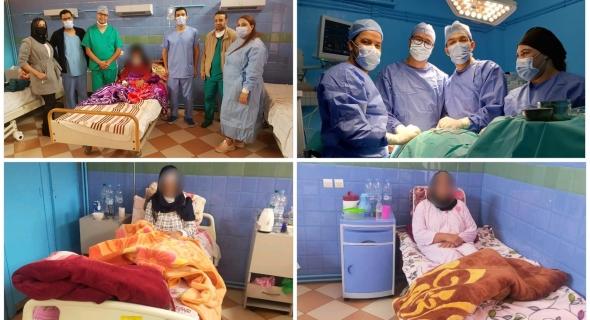 المستشفى الإقليمي بأزيلال يواصل حملاته الطبية لفائدة المواطنين وينظم حملة في جراحة الغدة الدرقية واللوزتين