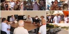 بالصور والفيديو وبتعليمات من والي الجهة… باشا قصبة تادلة يقود رفقة أعضاء لجنة اليقظة حملة تحسيسية واسعة بالمدينة وتوزيع الكمامات على المواطنين
