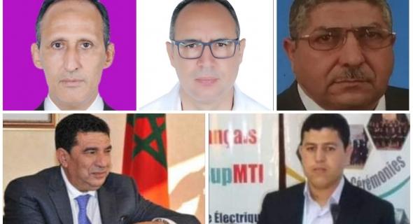 """خمس """"حمائم"""" من أصل ثمانية  طارت برئاسة المجالس الجماعية بإقليم الفقيه بن صالح في اليوم الأول =اللائحة="""