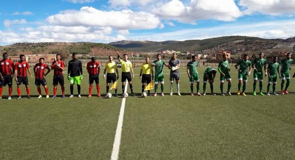 اتحاد ازيلال لكرة القدم يستمر في تألقه و ينتصر على اولمبيك مراكش