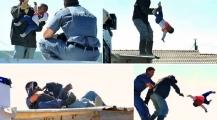 فيديو وصور لأب جاؤوا لهدم بيته فاحتج بإلقاء طفلته من سطحه أمام أنظار والدتها بجنوب إفريقيا