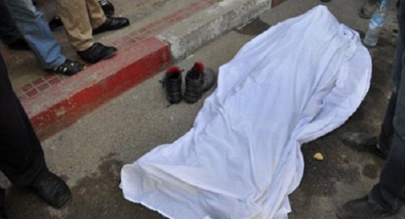 مؤلم والله يرحمو… سيارة تدهس مهاجرا إفريقيا وترديه قتيلا وتلوذ بالفرار
