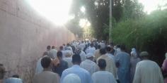 حشود غفيرة تؤدي صلاة العيد ببني ملال وتاكسي نيوز تبارك لقرائها-الصورة-