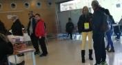 الانتخابات التشريعية باسبانيا تمر في جو عادي ديمقراطي ومغاربة من جهة بني ملال يدعمون مرشحا يهتم بمشاكلهم -فيديو +صور حصرية-