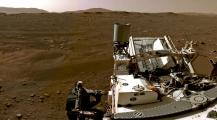 """ناس فين وصلات! +فيديو… """"ناسا"""" تنشر أولى مشاهد لحظة نزول مركبة """"برسفيرنس"""" على كوكب المريخ"""""""
