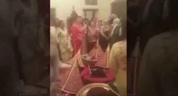 بالفيديو ولأول مرة..الملك يفاجئ عرس مغربي في طنجة
