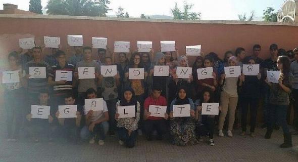 طلبة -tsi- و -psi- ببني ملال يردون على مغالطات وحكرة  وزارة التربية الوطنية ويوضحون للرأي العام سبب اضرابهم