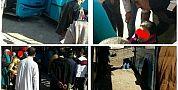 بالصور… فيهم بيهم…طوبيس زرق ضرب طوبيس صاحبو ومواطنة سخفات والاسطول متهالك والمراقبة خارج التغطية