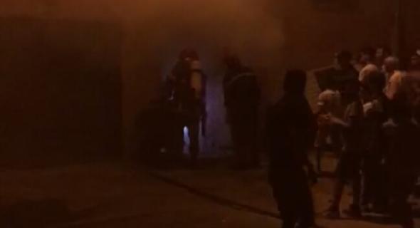 عاجل ..النيران تلتهم محلا لصنع الخيط ببني ملال ونقل ضحية اختناق للمستعجلات-الصورة-