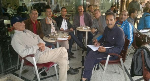 نادي الصحافة بجهة بني ملال خنيفرة يعقد لقاء لتدارس مشاكل الجسم الاعلامي