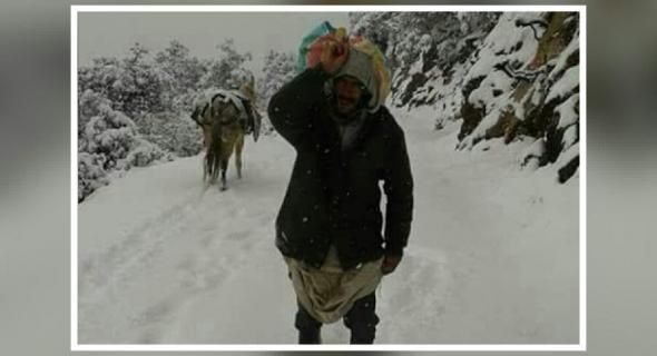 مسلسل نداءات المغرب العميق عبر تاكسي نيوز مستمر وهذه المرة من دواوير بجبال فم العنصر المحاصرة بالثلوج