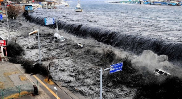 زلزال عنيف بقوة 7.3 درجات على مقياس ريختر يضرب اليابان وتحذيرات من تسونامي