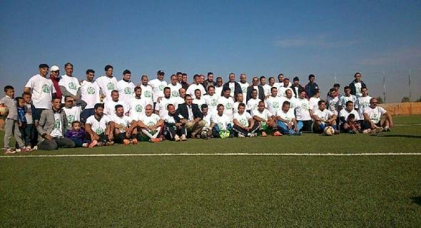 رئيس فريق نادي أمل سوق السبت لكرة القدم يعلن عن اقتراب موعد افتتاح مدرسة محلية لتكوين اللاعبين