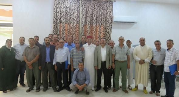 بعد تنسيقية منظمة المرأة وتنسيقية منظمة الشبيبة حزب الحمامة يؤسس الاتحادية الإقليمية للحزب بالفقيه بن صالح