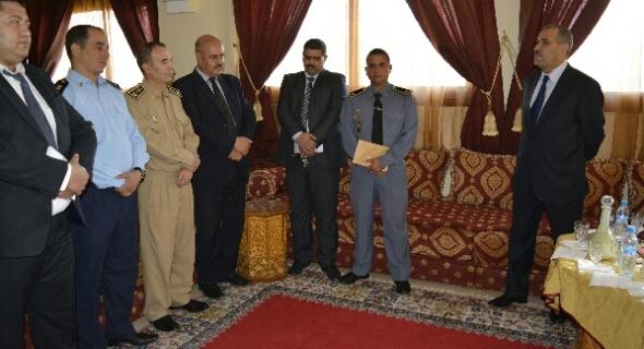 عمالة أزيلال تحتفل بترقية مسؤولين بالدرك الملكي والشرطة والقوات المساعدة