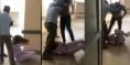 فين وصلنا !!!… شا.ب يعتدي على ممرضة بالركل والضرب ونشطاء يستنـ.كرون =فيديو=