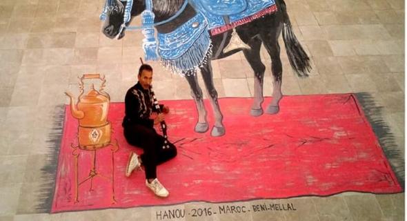 الفنان عبد العزيز هنو فن ،إبداع وعطاء لا ينتهي