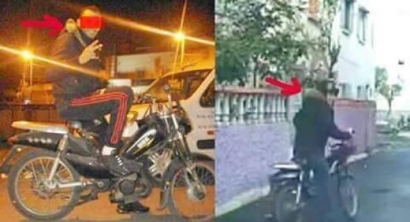 الشرطي هشام ملولي يكشف عن مفاجئة في قضية شفار كازا وصديقه صاحب الدراجة النارية !-الصورة-